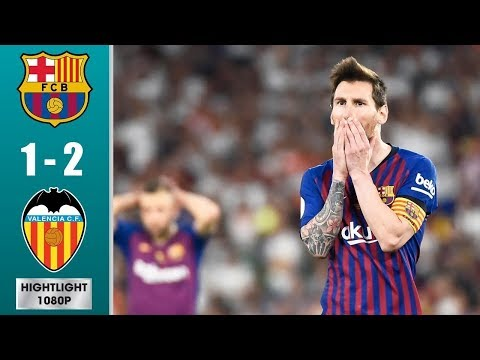 Barcelona Vs Valencia 1 : 2  || Final Copa Del Rey 2019