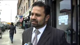 Brooklyn Pakistani Organization Reacts To Bin Laden Death. (video is on display at the WTC Museum)