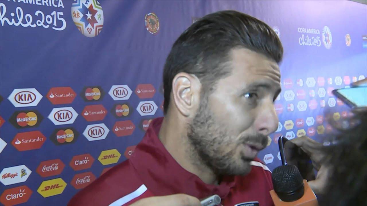 """Copa América 2015: Pizarro: """"Luchamos con diez hasta el final"""""""