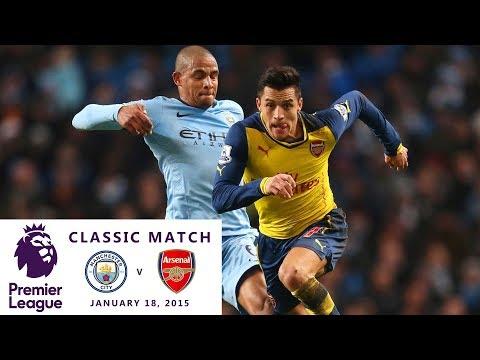 Premier League Classic Match: Manchester City v. Arsenal 2014/15 I NBC Sports
