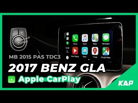 BENZ GLA Apple Carplay (7 inch monitor)
