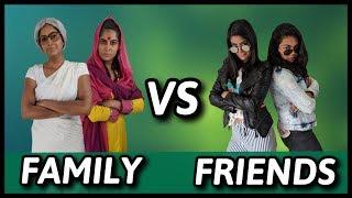 Video Family VS. Friends | Rickshawali MP3, 3GP, MP4, WEBM, AVI, FLV Januari 2019