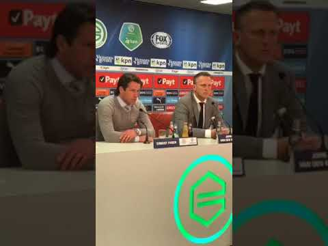 Persconferentie na FC Groningen - AZ