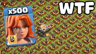 Video 500 Max Valkyrie VS 500 Max X-Bow Attack GamePlay | COC Funny Attack MP3, 3GP, MP4, WEBM, AVI, FLV Agustus 2017