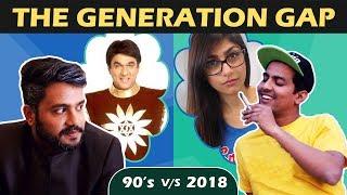Video THE GENERATION GAP (90s v/s 2018) | Aashqeen MP3, 3GP, MP4, WEBM, AVI, FLV Oktober 2018