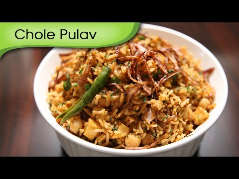 Chole Pulav | Quick And Easy To Make Main Course Rice Recipe | Ruchi's Kitchen
