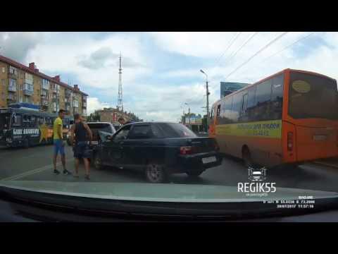 Авария в Омске