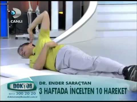 Dr Ender Sarac'tan 3 HAFTADA INCELTEN 10 HAREKET