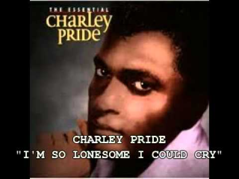 Tekst piosenki Charley Pride - I'm So Lonesome I Could Cry po polsku