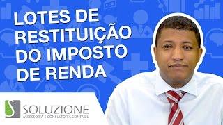 Nesse vídeo, falo das datas de liberação da restituição do Imposto de Renda. Se ainda não fez o Seu http://www.soluzionecontabil.com.br/irpf Veja o cronogram...