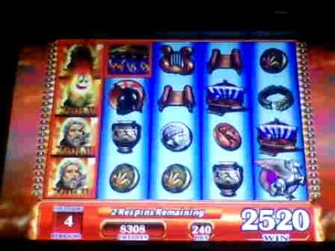 Zeus II Slot Bonus Win - Max Bet Big Win
