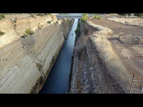 Kanal von Korinth gesperrt - zwei Wochen Aufräumarbeite ...