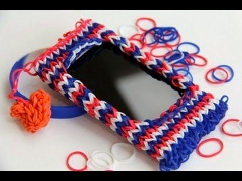 ipod as a watch - Om dit iPod/iPhone hoesje te kunnen maken moet je wel ervaring hebben met loomen. Credits go to Craft Life die hem heeft ontworpen. Ik heb er een paar aanpas...