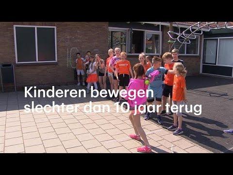 Kinderen bewegen steeds moeilijker - RTL NIEUWS