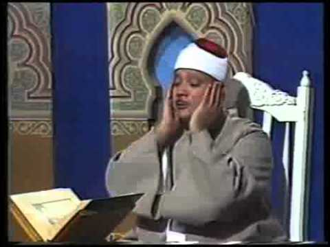 قورئان خوێن : عبدالباسط عبدالصمد  ماشاء الله بەراستى کارێگەرە
