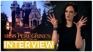 Eva Green - Miss Peregine's Home for Peculiar Children | exclusive Interview (2016) by Movie Maniacs