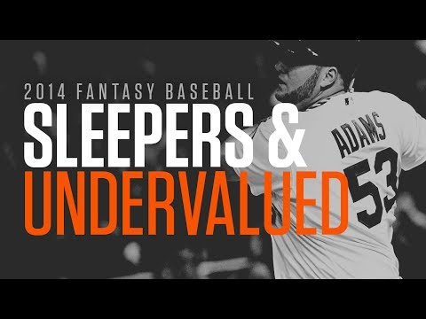 2014 Fantasy Baseball Sleepers and Undervalued Video thumbnail