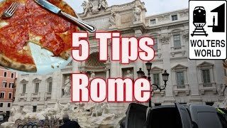 Rome Italy  City new picture : Visit Rome - 5 Tips for Visiting Rome, Italy