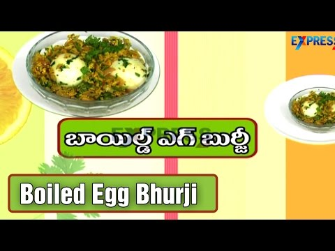 Boiled Egg Bhurji Recipe – Yummy Healthy Kitchen | ExpressTV