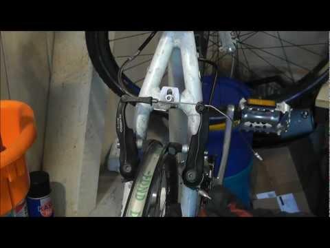 Fahrradbremsen einstellen (V-Brakes)
