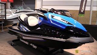 9. 2017 Kawasaki Ultra LX Jet Ski - Walkaround - 2017 Toronto Boat Show
