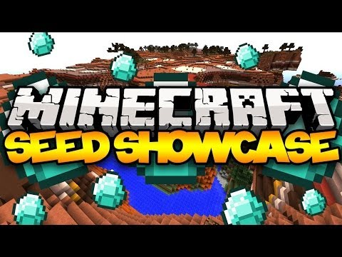 Minecraft Seed Showcase: BEST SEED! (20 DIAMONDS, 3 Temples, Villages, & MORE!)
