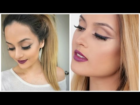 lips - Hello my bebes!! I Wanted to put a spin on the usual black winged liner and added some color to it and i though this look would be great for a night out! Enjoy : D Don't forget to LIKE and...
