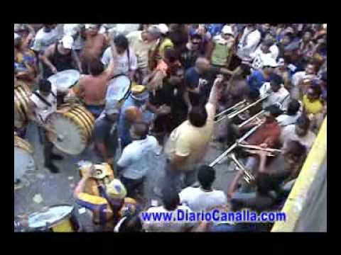 LOS GUERREROS BARRA BRAVA ROSARIO CENTRAL HINCHADA HOOLIGANS BOCA RIVER 07 03 08 - Los Guerreros - Rosario Central