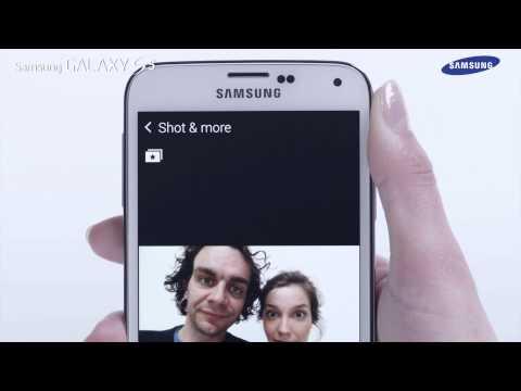 """Samsung GALAXY S5 - jak korzystać z funkcji """"Shot & More Camera Mode"""""""