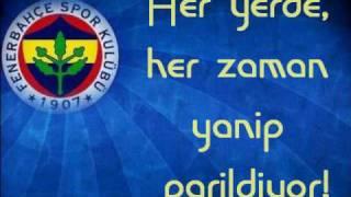 image of Fenerbahce 100. Yil Marsi Kirac lyrics