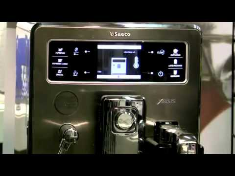 Philips Saeco Xelsis Espresso Machine Overview