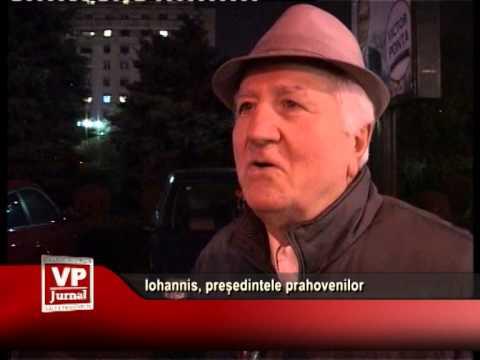 Iohannis, președintele prahovenilor
