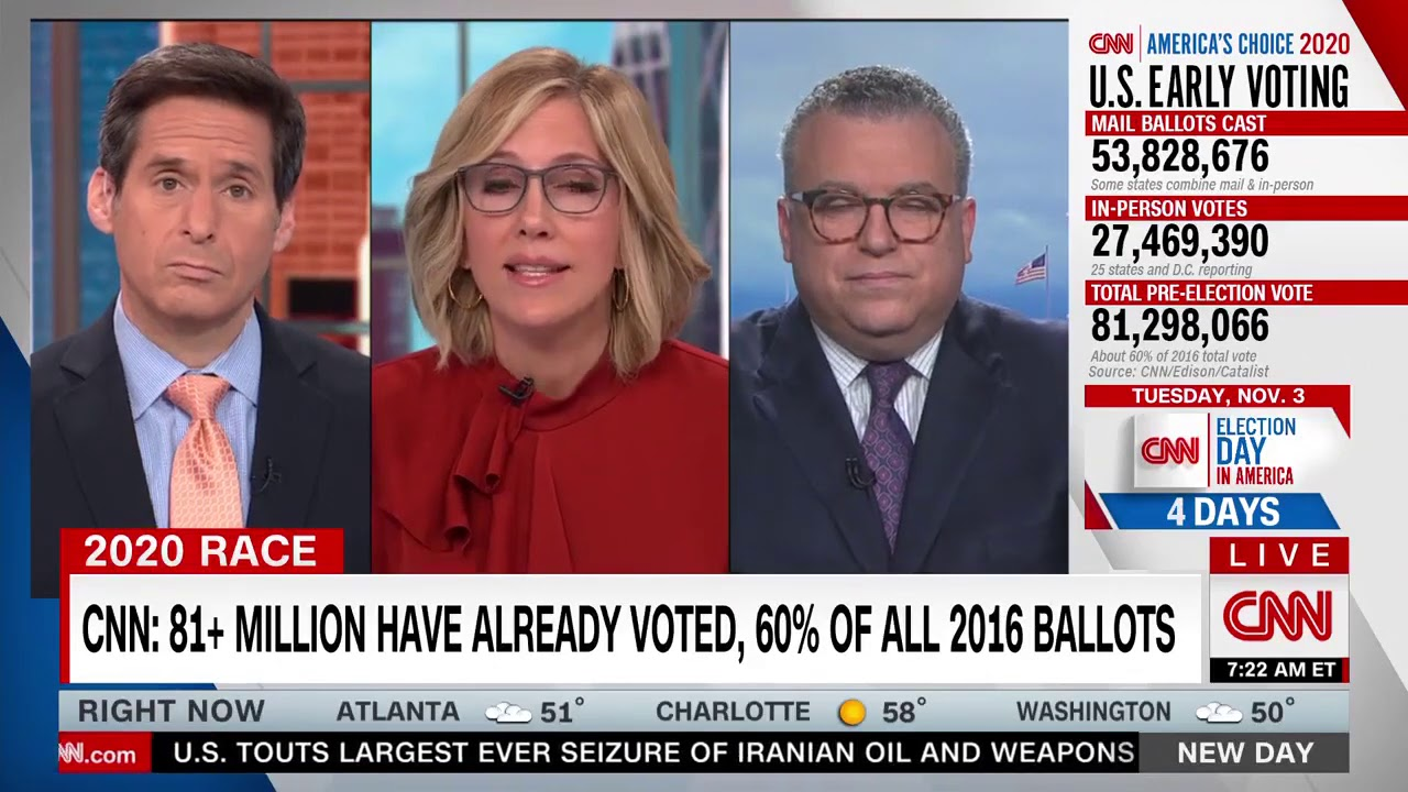 """CNN's Camerota: Democrats """"Worried,"""" """"Very Concerning,"""" """"It's Not Going Biden's Way"""" In FL"""