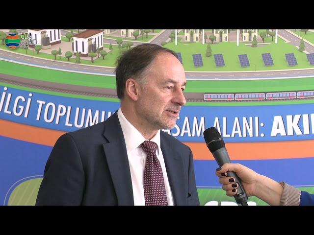 Avrupa Akıllı Şehirler Konseyi Başkanı Graham Colclough Röportajı