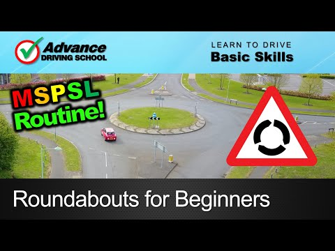 Roundabouts for Beginners     Learn to drive: Basic skills
