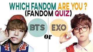 KPOP CHALLENGE #9 -  EXO & BTS SPECIAL FANDOM QUIZ - Which side are you ?