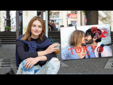 Surprising My Boyfriend In Japan | Tokyo, Japanese Food, & Summer Love | Sanne Vloet