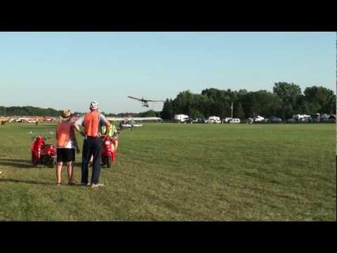 The Ultralight Flight line at EAA AirVenture 2011