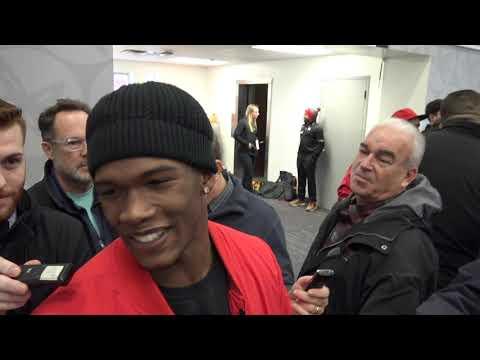 Garrett Wilson: Ohio State freshman receiver talks Buckeyes big win over Maryland
