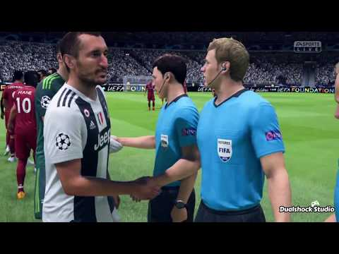 FIFA 19 Gameplay | Liverpool Vs Juventus | Champions League Final