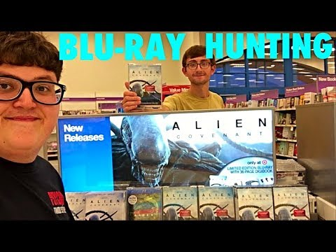 BLU-RAY HUNTING- ALIEN COVENANT