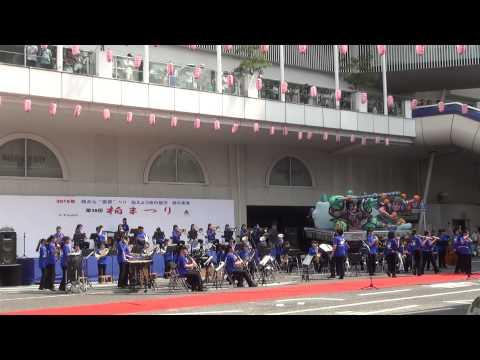 酒井根中学校の演奏2015-3 フライハイ