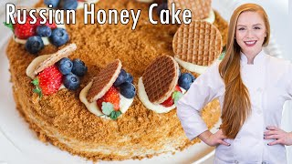 Medovik Cake: 8-Layer Honey Cake ~Торт