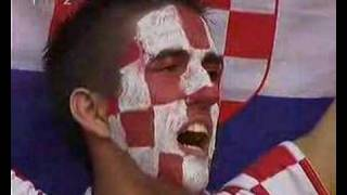 This is Croatian national song.This video is from WC 2006,match Brasil-Croatia where 30000 Croatian fans is singing national...
