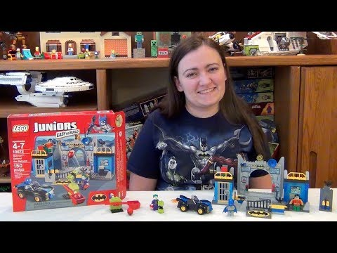 LEGO Batman Defend the Batcave 10672 DC Super Heroes Juniors Review & Build