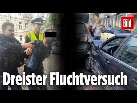 Polizeikontrolle eskaliert! Mehrere Schüsse bei Verfolgungsjagd in Berlin-Neukölln