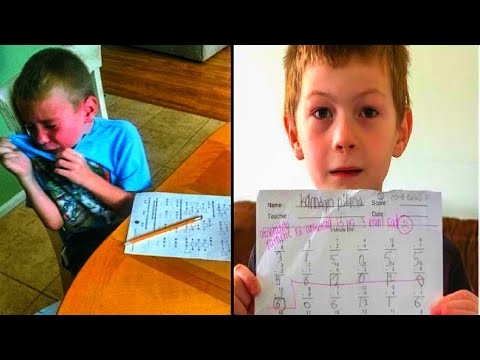 After Teacher Leaves Rude Comment On Boy's Homework, His Dad Calls Her Out