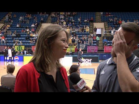 Abby Pyzik Smith, & All of Women's Basketball Postgame vs Washington & Lee