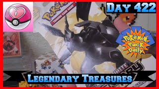 Pokemon Pack Daily Legendary Treasures Booster Opening Day 422 - Featuring JessCollectsCards by ThePokeCapital