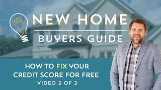 Your credit score is the first thing to understand and address when buying a house.  This video digs into one free way to fix your credit and get a higher score.  Here's the infographic Jeremy refers to in the video:http://bit.ly/2oii2kjHere's the federal credit report website:https://www.annualcreditreport.comHere's a link to the first video: How to Find Your Credit Score For Freehttps://www.youtube.com/watch?v=SdItP9uCb14Here's the infographic from that video:http://bit.ly/2oR8kaqNEED A GUIDE FOR THE ENTIRE HOME BUYING PROCESS?  We've created it for you right here---https://www.newhomebuyersguide.netUse the discount code CLOSING to get 25% offLearn more about us at:Our Site -  https://www.shineinsurance.comOur Blog - https://www.shineinsure.com/blogOur Podcast - https://www.scratchentrepreneur.comOur First Time Home Buyers Guide - https://www.newhomebuyersguide.net